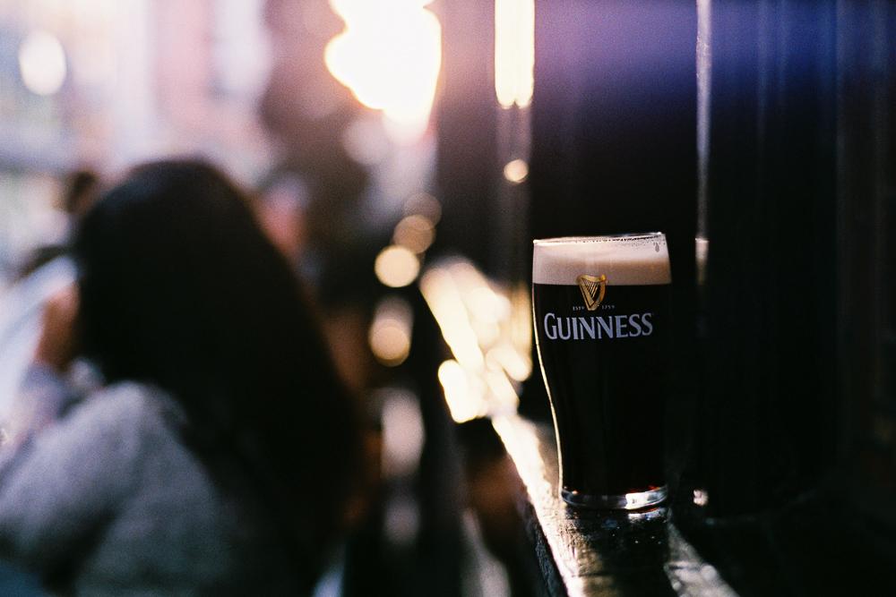 Guinness (Dublin 2015), Leica M2, Zeiss C Sonnar 50mm f/1.5 @ f/2, Fuji Xtra 400